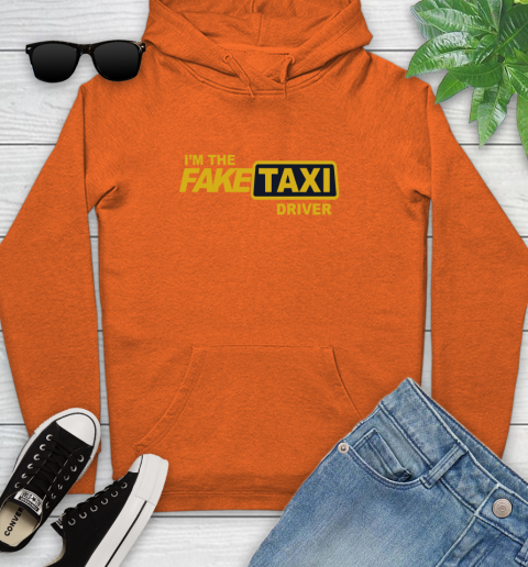 I am the Fake taxi driver Youth Hoodie 5