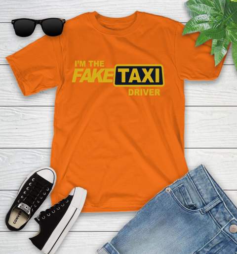 I am the Fake taxi driver Youth T-Shirt 7