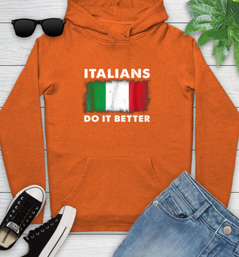 Italians Do It Better Youth Hoodie 4