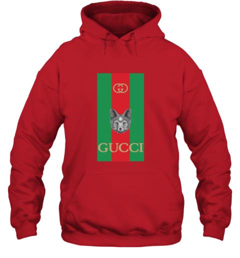 Gucci Logo Wolf Hoodie