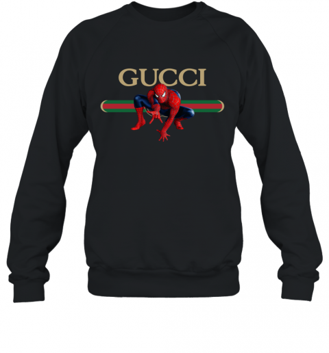 Gucci Logo Spiderman Sweatshirt