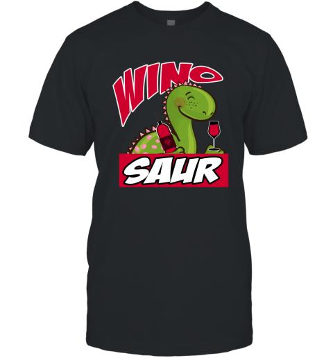 Wino Saur Dinosaur Shirt Funny Birthday Gift T-Shirt