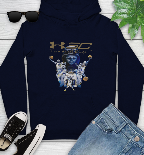 Stephen Curry I Can Do All Things Signature Youth Hoodie 3