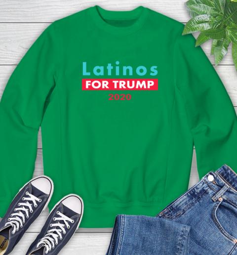 Latinos Trump 2020 Sweatshirt 6