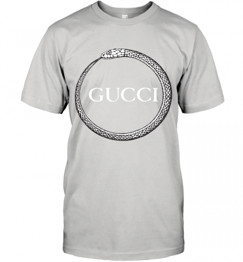 Gucci Ouroboros Print T-Shirt