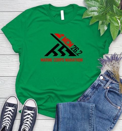 2018 Marine Corps Marathon Women's T-Shirt 4