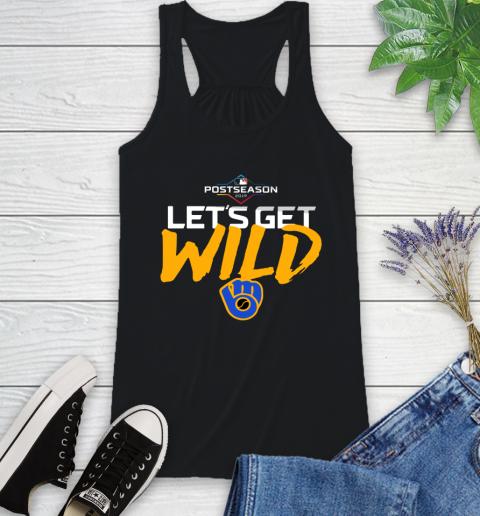 Brewers Wild Card Racerback Tank