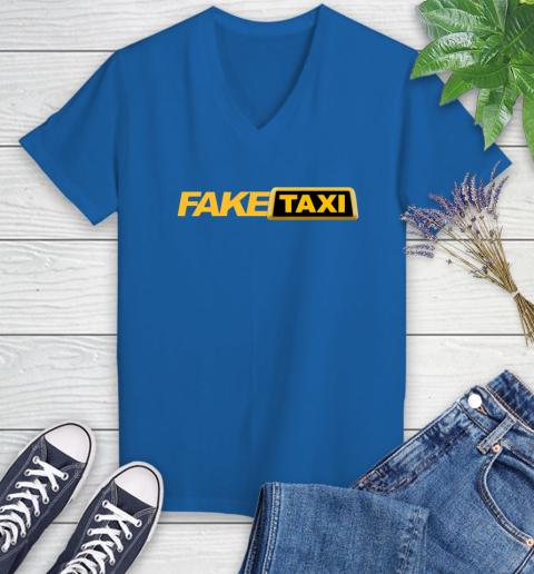 Fake taxi Women's V-Neck T-Shirt 10