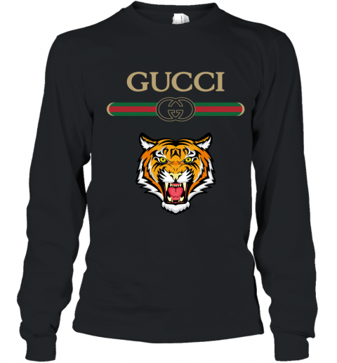 Gucci Logo With Tiger Youth Long Sleeve T-Shirt