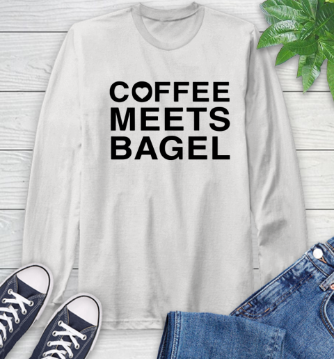 Coffee Meets Bagel Black Long Sleeve T Shirt