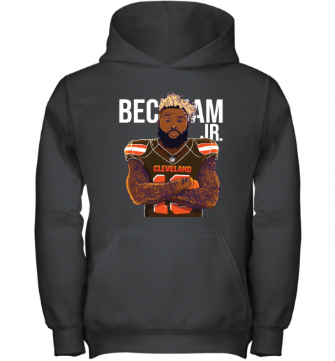 13 ODELL BECKHAM BROWNS Youth Hoodie