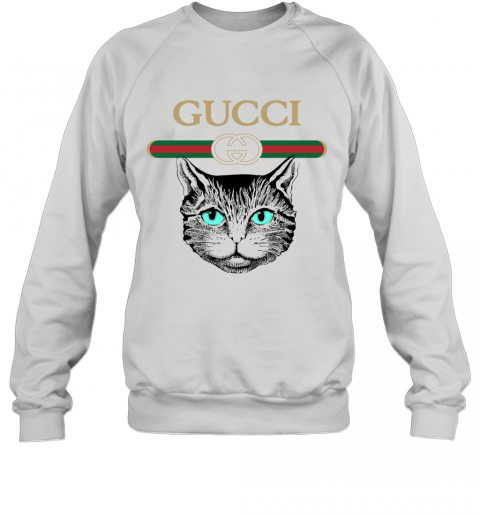 Gucci Logo Black Cat Secret Sweatshirt