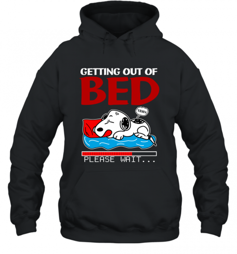 Snoopy Getting Out Of Bed... Ugly Hoodie