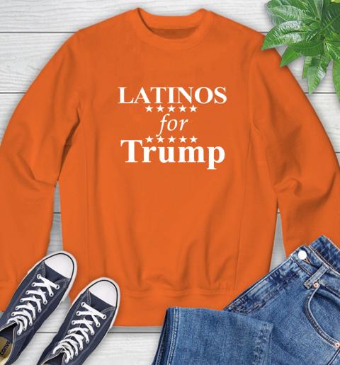Latinos For Trump Sweatshirt 3