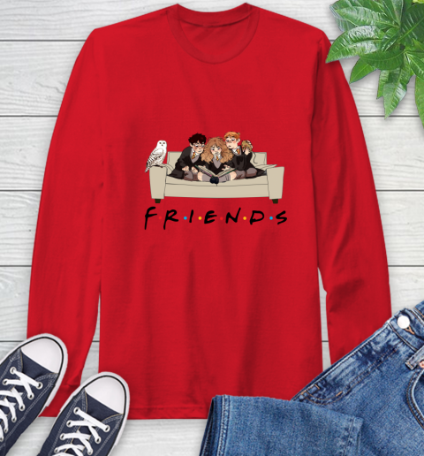 Harry Potter Ron And Hermione Friends Shirt Long Sleeve T-Shirt 9
