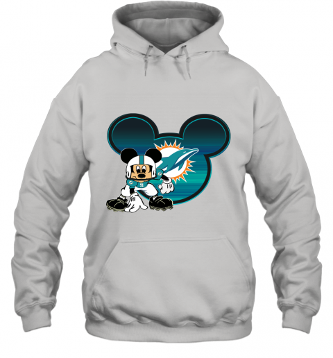 NFL Miami Dolphins Mickey Mouse Disney Football T Shirt Hoodie