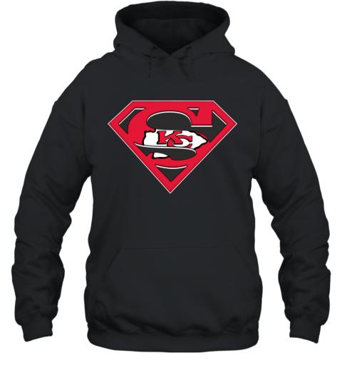 NFL Kansas City Chiefs LOGO Superman Hoodie