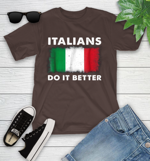 Italians Do It Better Youth T-Shirt 7