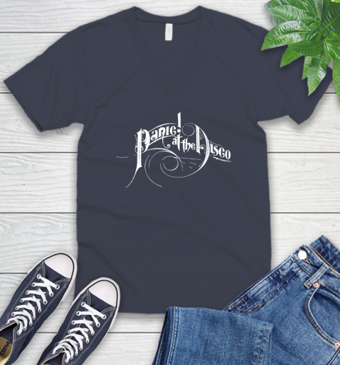 Panic At The Disco V-Neck T-Shirt 8