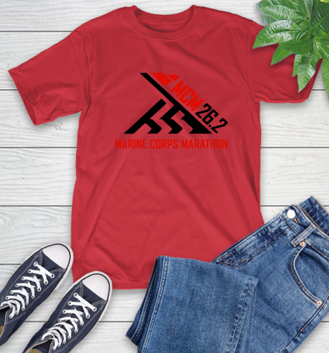 2018 Marine Corps Marathon T-Shirt 10