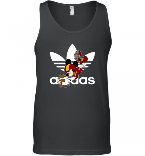 Adidas Logo  Rugby Mickey Mouse Disney Tank Top