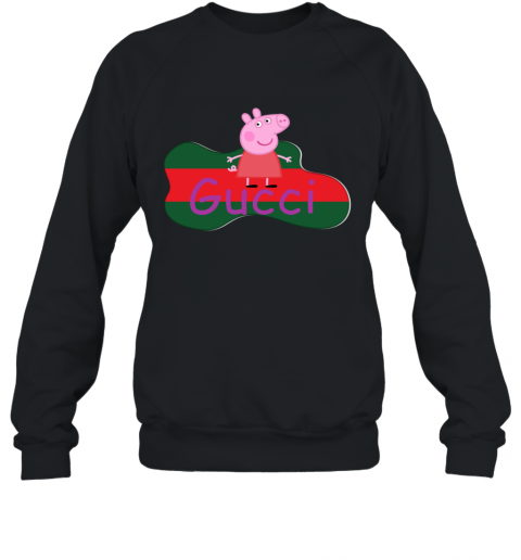 Peppa Pig Gucci Shirt Design Sweatshirt