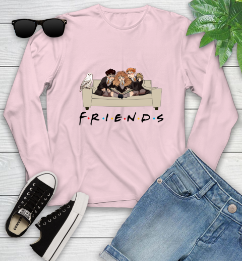 Harry Potter Ron And Hermione Friends Shirt Youth Long Sleeve 7