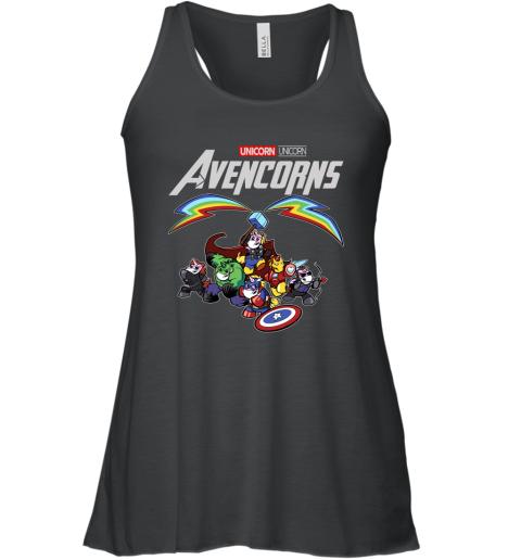 Marvel Avengers Endgame Unicorn Avencorns Shirt Racerback Tank