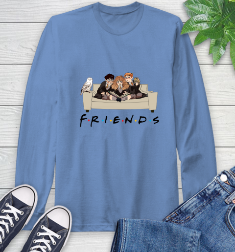 Harry Potter Ron And Hermione Friends Shirt Long Sleeve T-Shirt 10