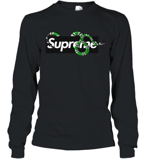Gucci King Snake x Supreme Youth Long Sleeve T-Shirt