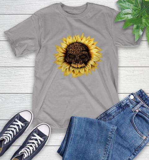 Sunflower Skull Panther T-Shirt 6