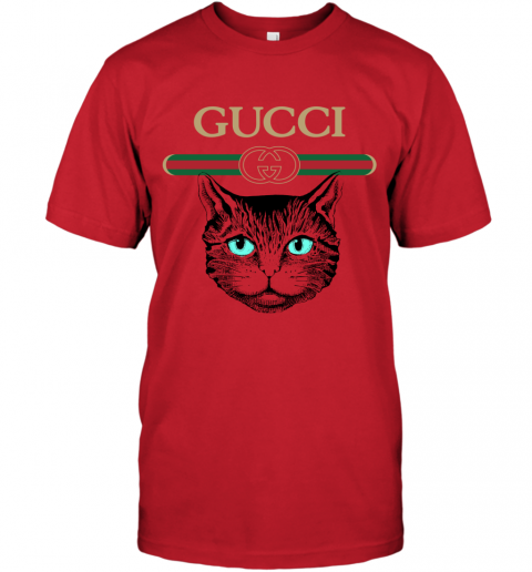 Gucci Logo Black Cat Secret T-Shirt