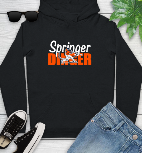 Houston Springer Dinger Fan Shirt Youth Hoodie