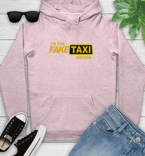 I am the Fake taxi driver Youth Hoodie 10