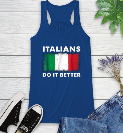 Italians Do It Better Racerback Tank 8