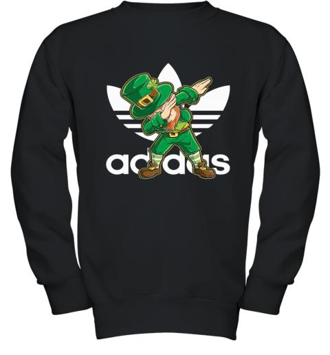 Adidas Leprechaun Dabbing Men Youth Sweatshirt