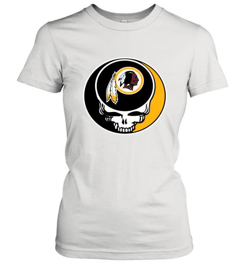 NFL Washington Redskins Grateful Dead Rock Band Football Sports Women's T-Shirt