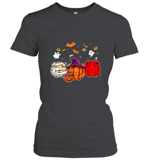 Guinea Pigs happy halloween, Cute mummy witch demon satan shirt Women's T-Shirt