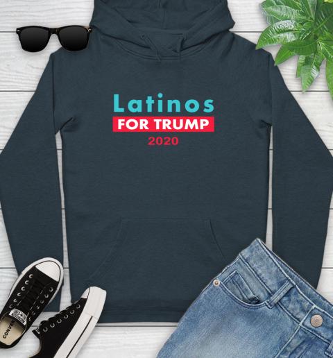 Latinos Trump 2020 Youth Hoodie 8