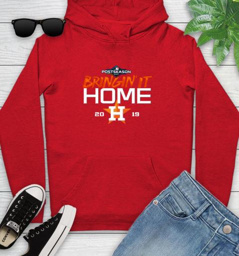 Bringing It Home Astros Youth Hoodie 12