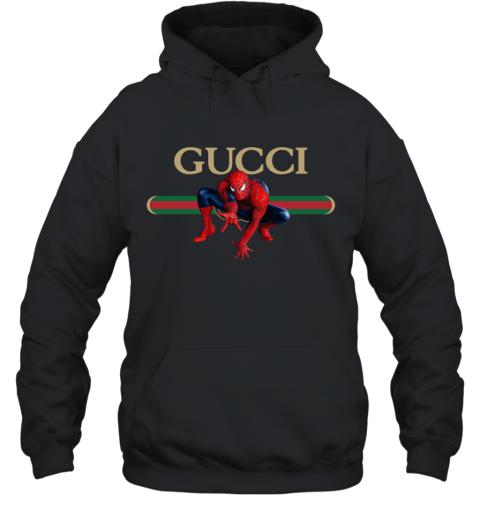 Gucci Logo Spiderman Hoodie