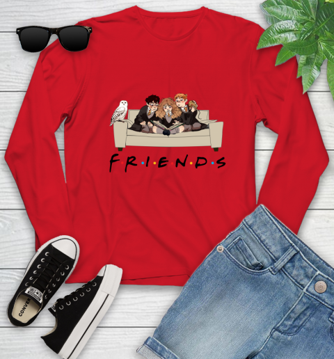 Harry Potter Ron And Hermione Friends Shirt Youth Long Sleeve 17