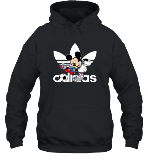 Adidas Logo Football Mickey Mouse Disney Hoodie