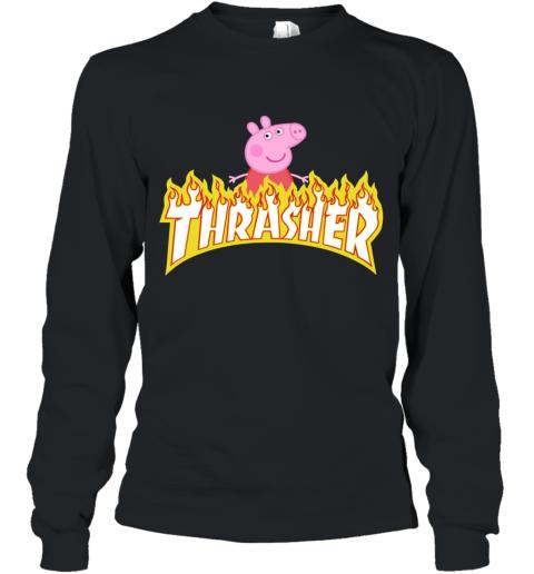 Peppa Pig Thrasher Long Sleeve T-Shirt