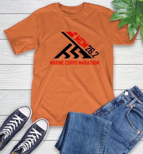 2018 Marine Corps Marathon T-Shirt 3