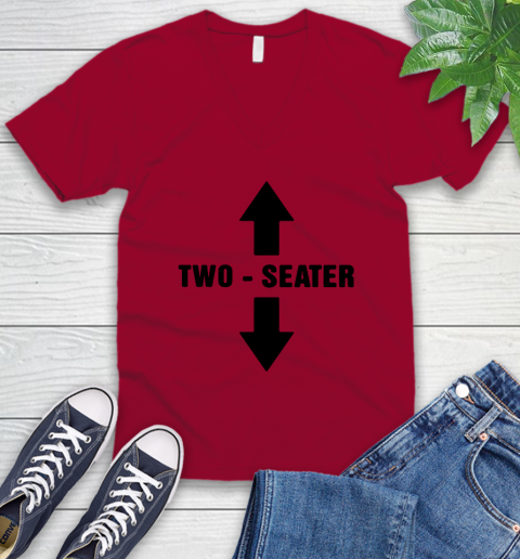 Two Seater V-Neck T-Shirt 5