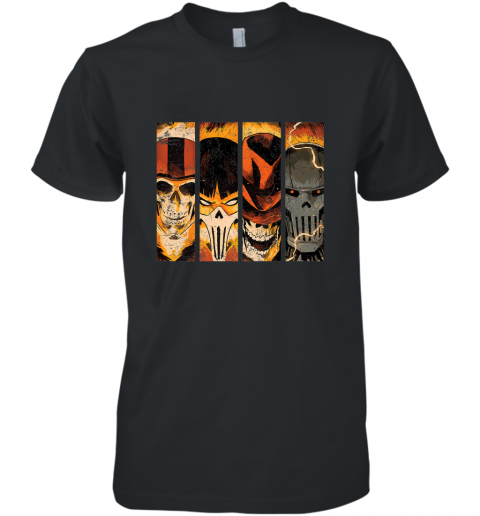 Marvel Ghost Rider Ghost Racers Spirits of Vengeance Men's Premium T-Shirt