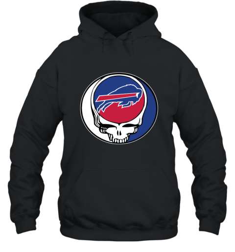 Buffalo Bills Grateful Dead Steal Your Face Football NFL Hooded Sweatshirt