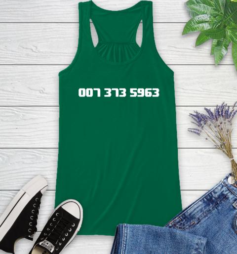 007 373 shirt Racerback Tank 6