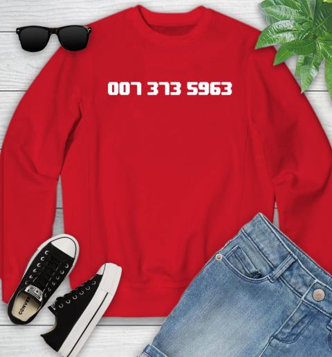 007 373 shirt Youth Sweatshirt 8